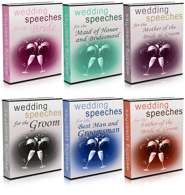 Product picture Wedding Speeches Package Master Resale Rights