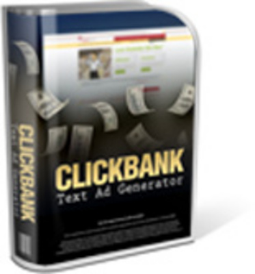 Product picture Click Bank Text Ads Generator Version 2.0