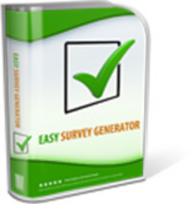 Product picture Easy Survey Generator with Resale Rights