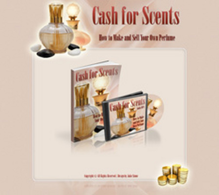 Product picture Cash for Scents with Master Resale Rights
