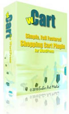 Product picture Wcart WP Shopping Cart w/Zone Shipping Module